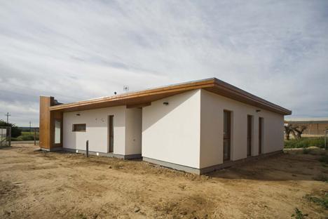 Casa ecológica, Aitana (Lleida), construida por Casas ECOTEC, distribuidor de Kuusamo