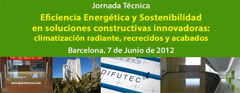 """""""Eficiencia Energética y Sostenibilidad en Soluciones Constructivas Innovadoras"""", Jornada Técnica gratuita organizada por CONSTRUIBLE en el Roca Barcenola Gallery"""
