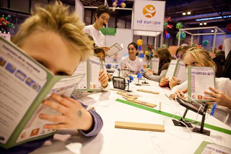 Solar Decathlon y 10 Action en la Feria infantil Dababum en Madrid