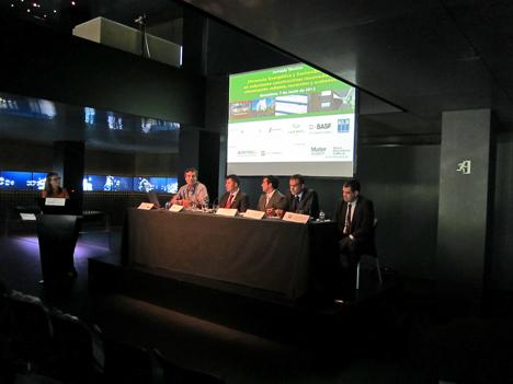 Mesa redonda, Jornada Técnica Materiales y Soluciones Constructivas Innovadoras, Barcelona