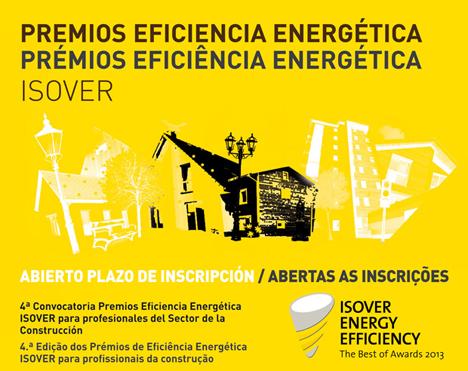 Cartel de los Premios Isover de Eficiencia Energética