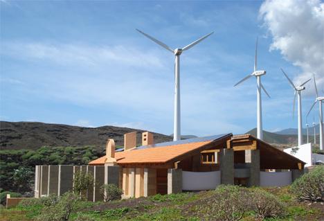 Urbanización Bioclimática en Tenerife, El Caminito