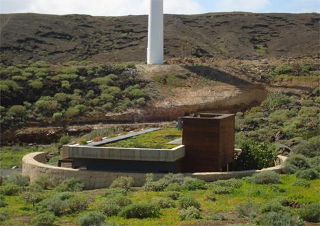 Urbanización Bioclimática en Tenerife, La Geria
