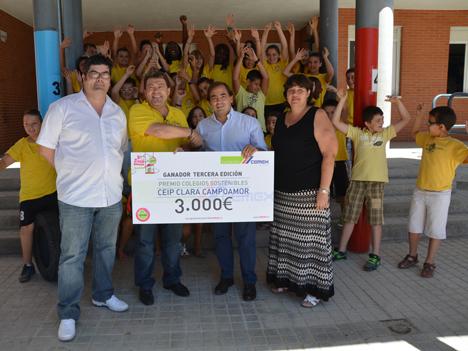 El Colegio Público Clara Campoamor de la localidad de San Martín de la Vega (Madrid) ha recibido el Premio Colegios Sostenibles CEMEX