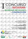 Concurso Nacional de Escultura con Materiales Reciclados de la Construcción organizado por el centro de reciclaje AR Los Huertos