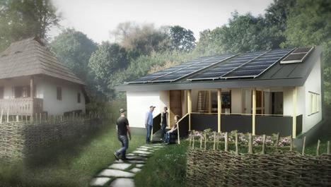 Casa solar Prispa