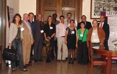 Reunión de inicio del proyecto celebrada a inicios del 2009 en la antigua sede de Leitat