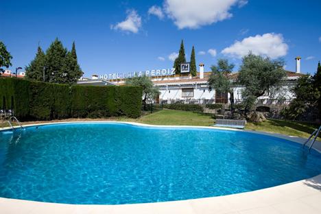 El hotel NH La Perdiz (Jaén)