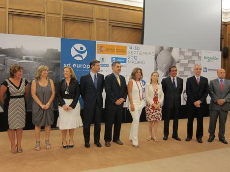 Presentación SDE 2012, autoridades y empresas patrocinadoras