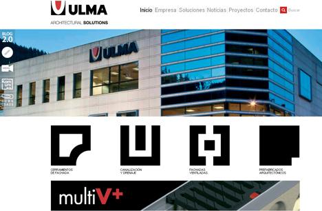 Nueva Web de ULMA Architectural Solutions