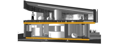 Render casa solar Pi