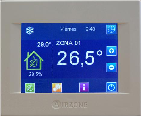 Termostato Eco-Adapt de Airzone