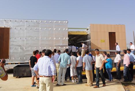 Andalucía Team descubrió en Sevilla su proyecto para Solar Decathlon 2012