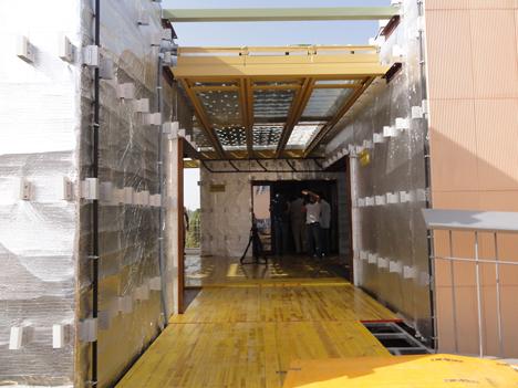 Andalucía Team descubrió en Sevilla su proyecto para Solar Decathlon 2012.