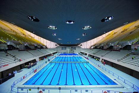 Piscina Olímpica, Londres 2012 con soluciones Geberit