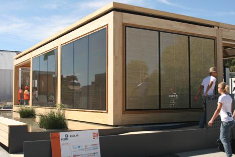 Ecolar Home, ha sido la elegida como la mejor en la Prueba de Ingeniería y Construcción en SDE 2012