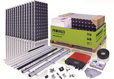 Kit Fotovoltaico de Proinso