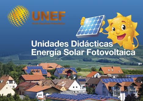 Unidades didácticas de energía solar fotovoltaica UNEF
