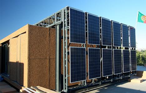 Casas en Movimiento, de la universidad de Oporto con paneles de Martifer solar