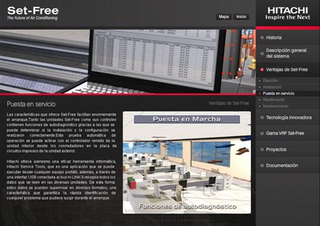Imágen del DVD interactivo de Hitachi