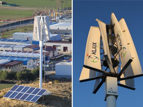 Nuevo aerogenerador: Kliux Geo1800