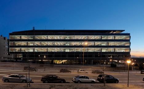 La nueva sede de la empresa de ingeniería IDOM, de 16.000 m2, ubicada en Avda. Monasterio de El Escorial de Madrid
