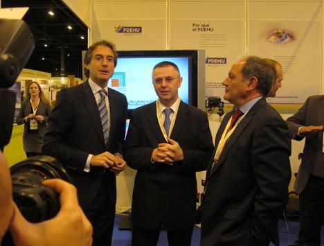 Iñigo de la Serna, Presidente de FEMP y Francisco Javier Fernandez Campal Presidente de la FLCQA