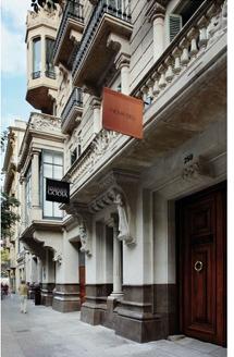 Casa Garriga-Nogués, sede de la Fundación Godia