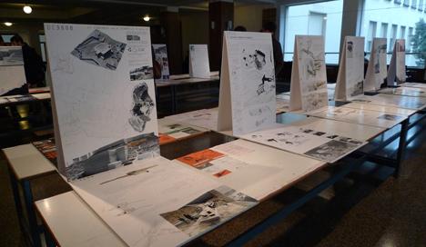 Exposición Proyectos VI Concurso Aula Cerámica Hispalyt