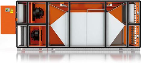 Adconair 76, nuevo intercambiador de calor a contracorriente de Menerga