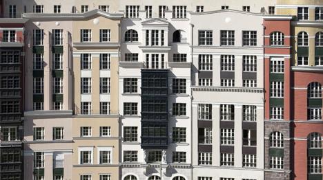 Artklass, edificio de apartamentos en Bilbao con sistema de aislamiento continuo StoTherm Classic y StoDeco