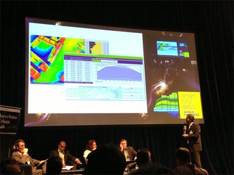 Presentación HUellasolar en Smart City Expo
