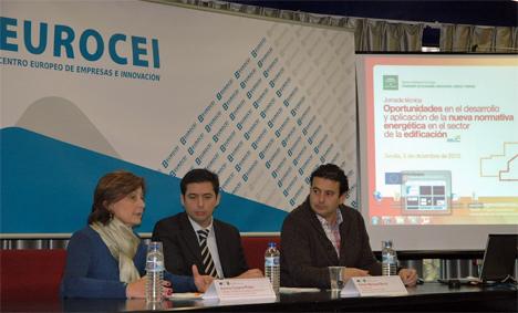 """Jornada """"Oportunidades en el desarrollo y aplicación de la nueva normativa energética en el sector de la edificación"""", organizada por la Agencia Andaluza de la Energía"""