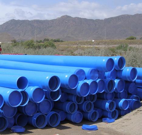 nuevas tuberías sostenibles de PVC-O TOM© de Molecor