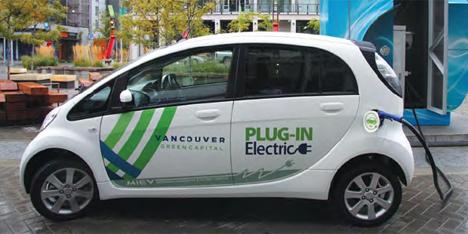 Recarga de un vehículo eléctrico, Greenest City 2020 Accion Plan Vancouver