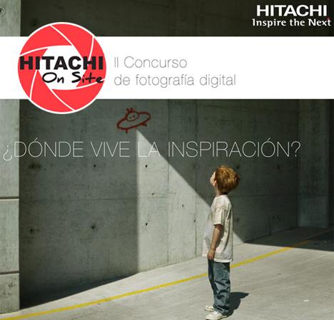 Segunda edición del concurso de fotografía HITACHI On Site