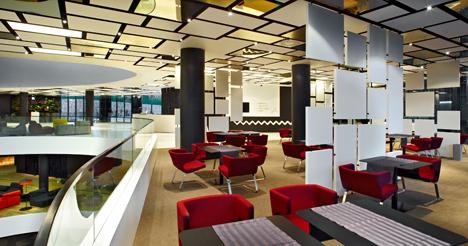 Un hotel en croacia con un original dise o con techos for Como disenar un hotel