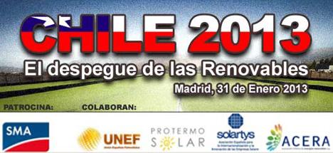 Jornada Saypower en Madrid sobre el depegue de las energías renovables en Chile