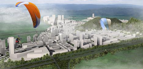 Proyecto de Ciudad Universitaria seleccionado para la ampliación de la ciudad china de Dushan
