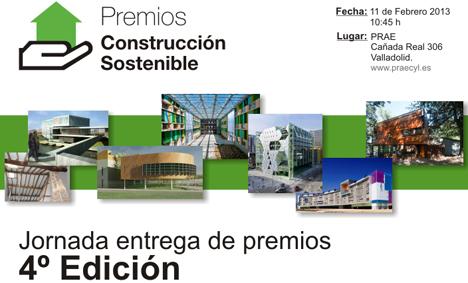 Jornada de Entrega de los Premios Construcción Sostenible de Castilla y León