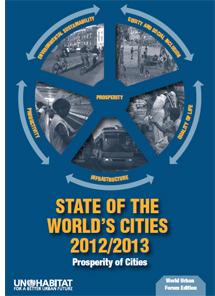 """Informe del """"Estado de las Ciudades 2012/2013"""" de la ONU-Hábitat"""