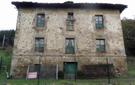 Casa Palacio San Cristóbal antes de la rehabilitación