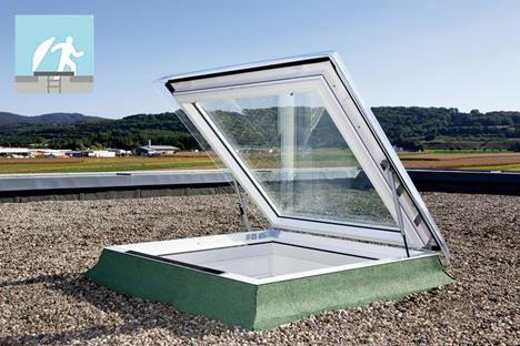 Nueva ventana VELUX de salida a cubiertas planas