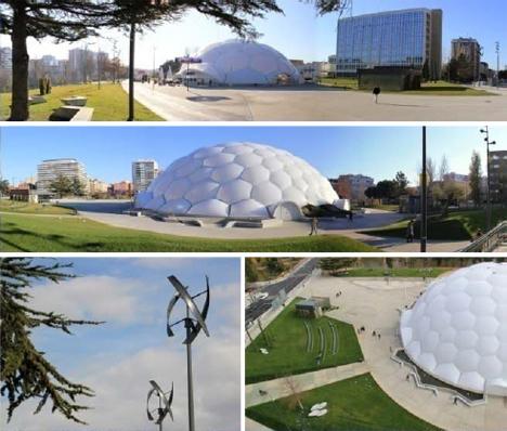 Accésit: Proyecto Milenio, Sara Delgado Vázquez (Dad Arquitectura) + A. Chassagnol (Exp Arquitectes) + Enric Ruiz Geli (Cloud 9) Valladolid