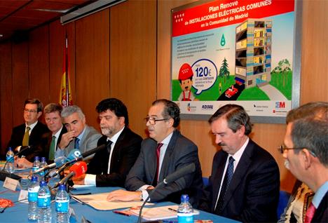 Presentación del Plan Renove de Instalaciones Eléctricas Comunes