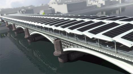 Imagen, propiedad de Network Rail, de la futura instalación de Blackfriars