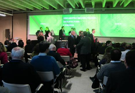 Encuentro sobre Rehabilitación, Arquitectura y Energía organizado por el COAM