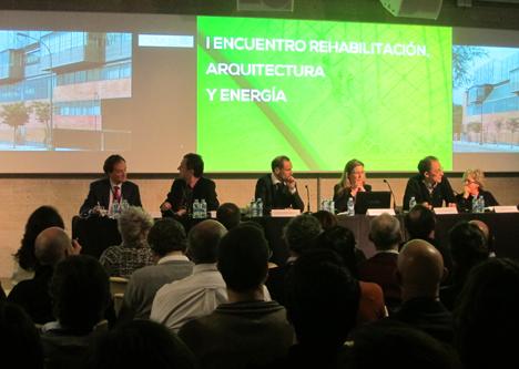 I Encuentro sobre Rehabilitación, Arquitectura y Energía,  Mesa técnica 2: Rehabilitación y Arquitectura