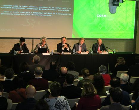 I Encuentro sobre Rehabilitación, Arquitectura y Energía, mesa inaugural
