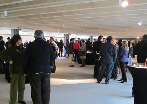 ocktel en el Encuentro sobre Rehabilitación, Arquitectura y Energía organizado por el COAM
